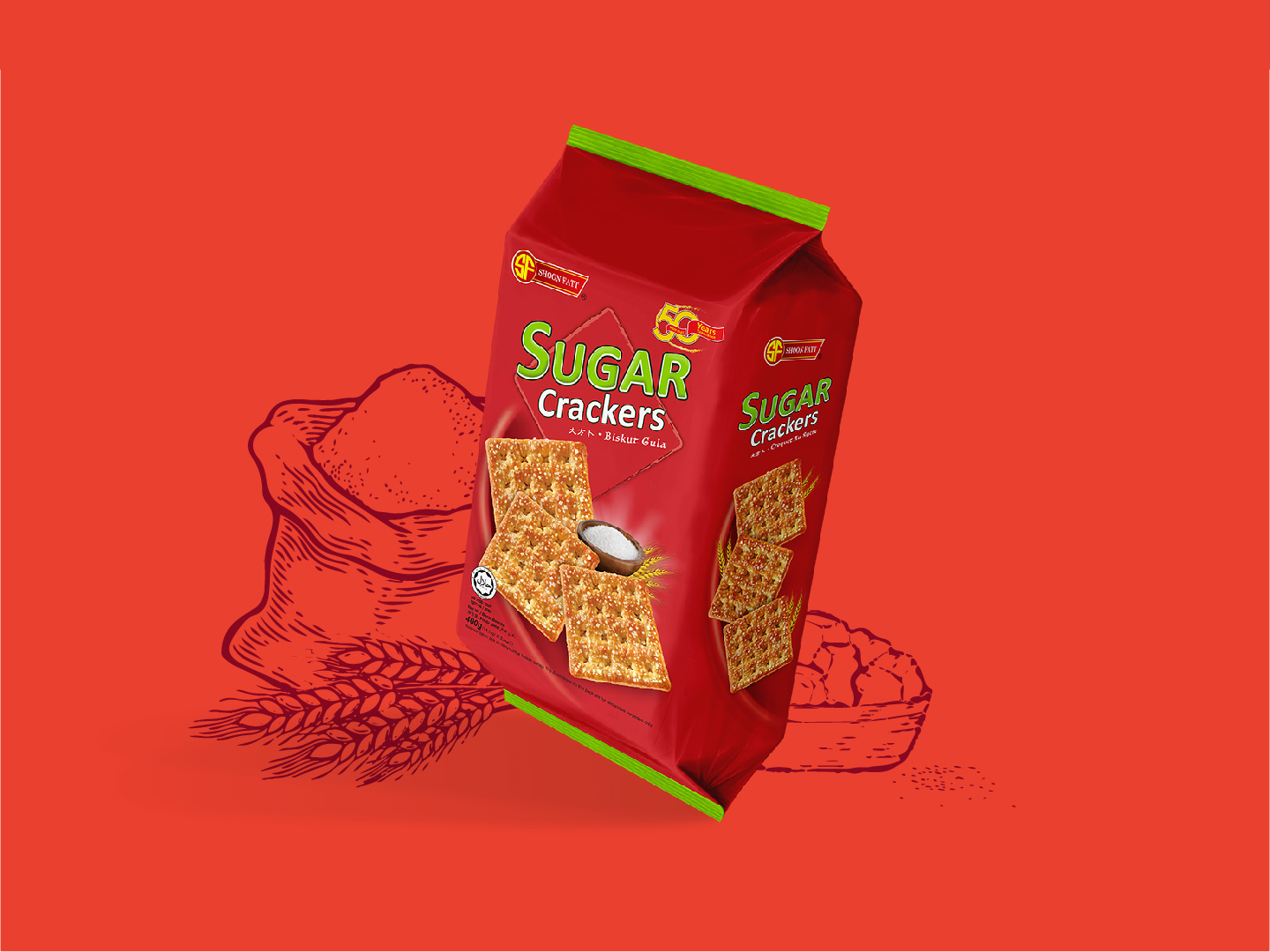 Shoon Fatt Sugar Crackers