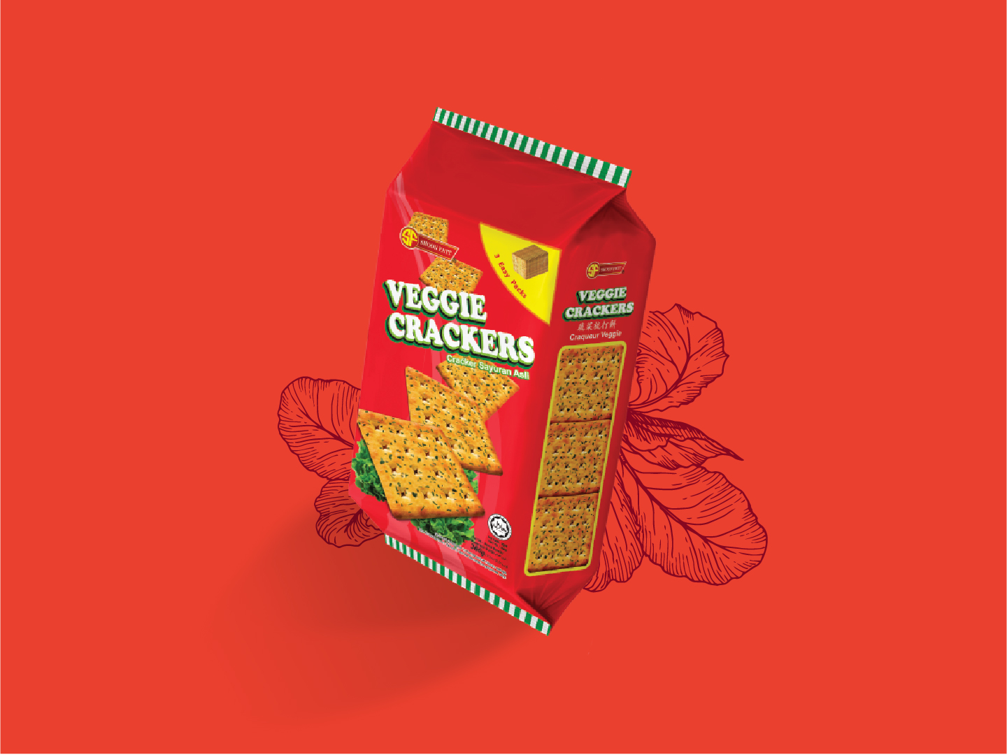 Shoon Fatt Veggie Crackers